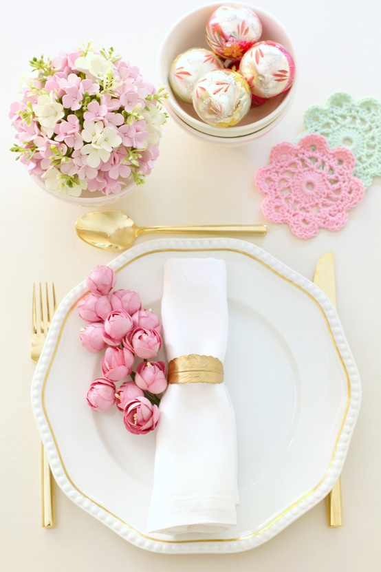 Pastel-Christmas-table from Citrus and Orange