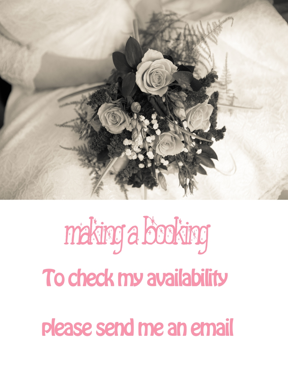 Wedding Booking
